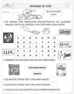 ENSINAR E APRENDER!: ATIVIDADES 2º ANO ENSINO FUNDAMENTAL
