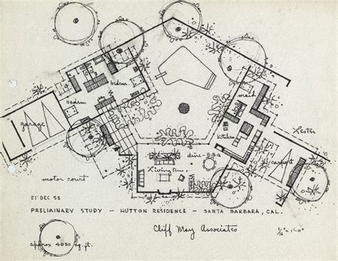 cliff may floor plans cliff may and the california ranch house ideal dylan