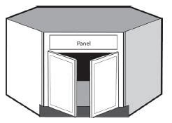 Kitchen corner sink base cabinet kitchen design photos