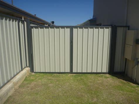 color bond colorbond fencing gates