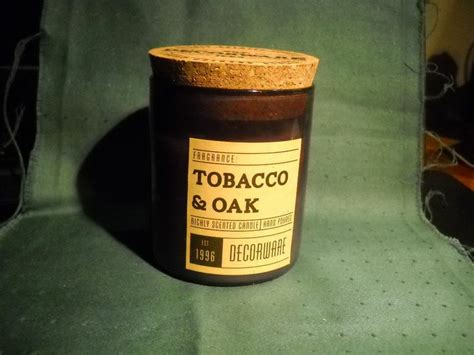 Dw Home Candles Warm Tobacco And Oak by Decoware Tobacco Oak Candle By Dw Home