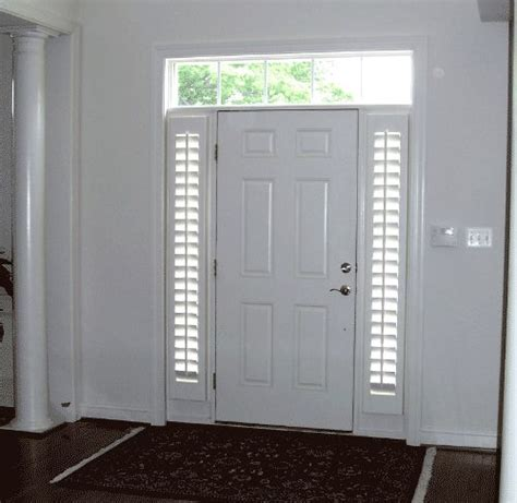 9 Best Images About Front Door Sidelights On Pinterest Window Covering For Sidelights On Front Door