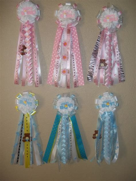 How To Make Baby Shower Mums by Baby Shower Mums Themed