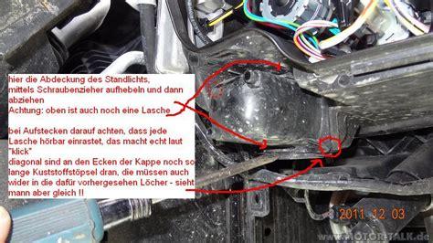 Bmw 3er Standlicht Wechseln by Abdeckung Standlicht Lenwechsel E90 Vfl H7