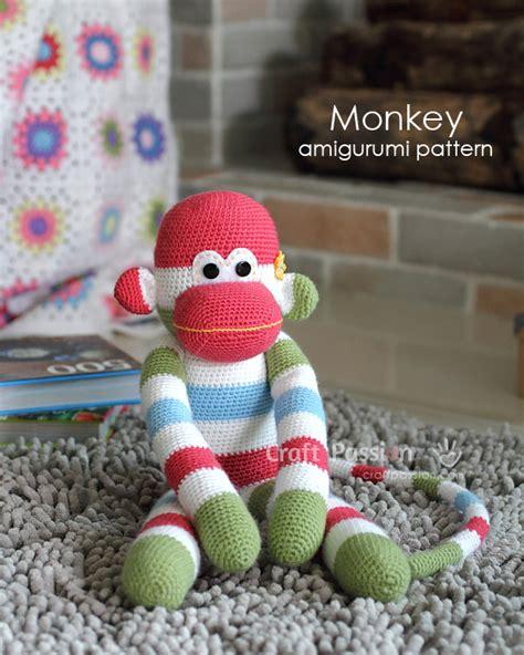 amigurumi pattern johnny the monkey amigurumis pattern imagui
