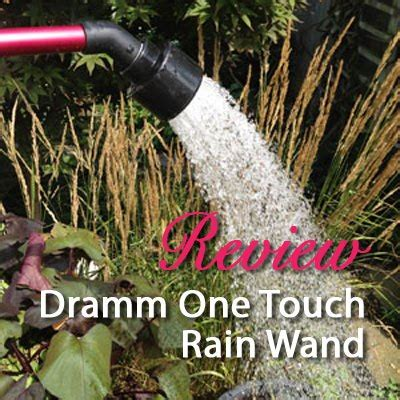 dramm  touch rain wand hose nozzle product review