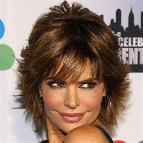 how to style lisa rinna layered razor cut 12 best images about hair styles on pinterest