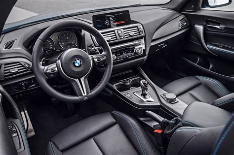 bmw interior 2016 bmw m2 test review motor trend