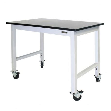 Benches Tables Iac Iac Mobile Rolling Lab Bench Table Epoxy Top Equipmax