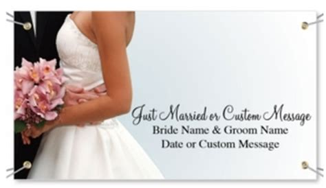 Wedding Banner Photos by Wedding Vinyl Banners Overnight Signs And Banners