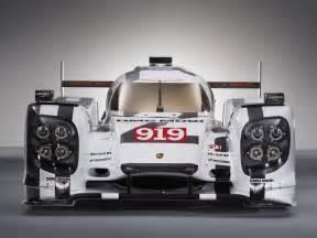 Porsche 919 Hybrid Geneva 2014 Porsche 919 Hybrid In Le Mans Livery