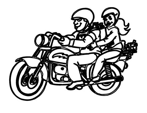 coloring page for the mouse and the motorcycle free printable motorcycle coloring pages for kids