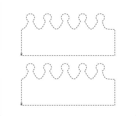 make a template 14 paper crown templates free sle exle format