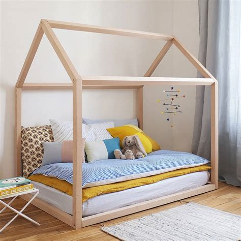 toddler house bed wooden house kids bed by grattify notonthehighstreet com