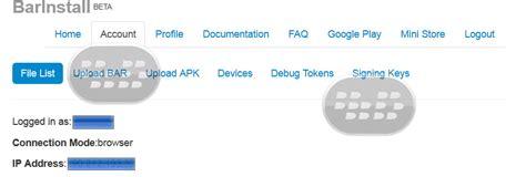 blackberry playbook apk to bar converter convert android tutorial c 243 mo convertir aplicaciones y juegos apk a bar