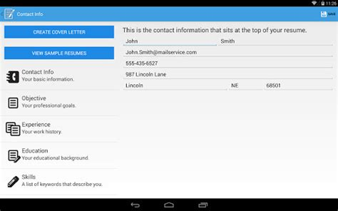 Resume Builder Ratings by Resume Builder Pro For Android Free