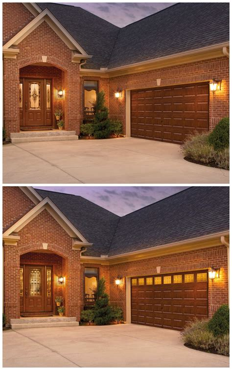Adding Windows In Garage Doors - before and after don t underestimate the impact adding