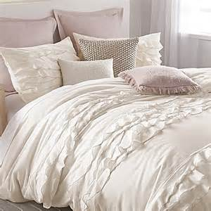 white duvet covers dkny flirt duvet cover in white bed bath beyond