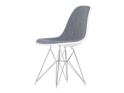 eames upholstered side chair buy the vitra upholstered dsr eames plastic side chair at