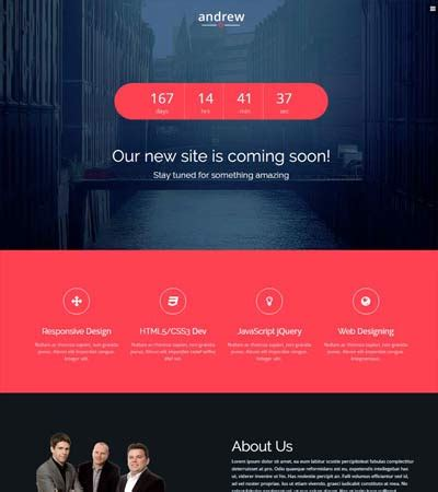 bootstrap themes coming soon free moon free bootstrap coming soon template