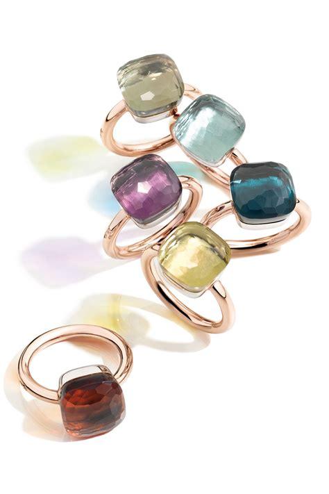 pomellato nudo collection pomellato nudo ring ringen oorbellen en sieraden