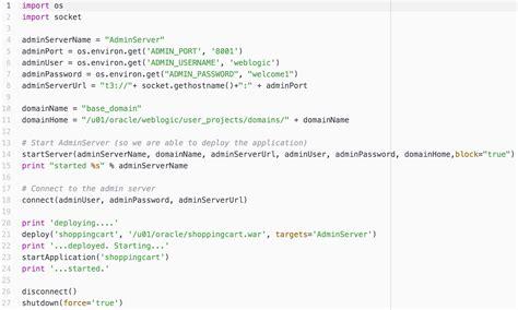 Docker Weblogic Tutorial | weblogic 12 2 1 on docker techblogsearch com