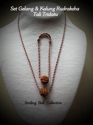 Kalung Bali Etnik Diana 42 jual set gelang dan kalung rudraksha besar benang tridatu smiling bali