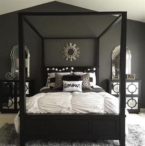 grey  black bedroom design hawk haven