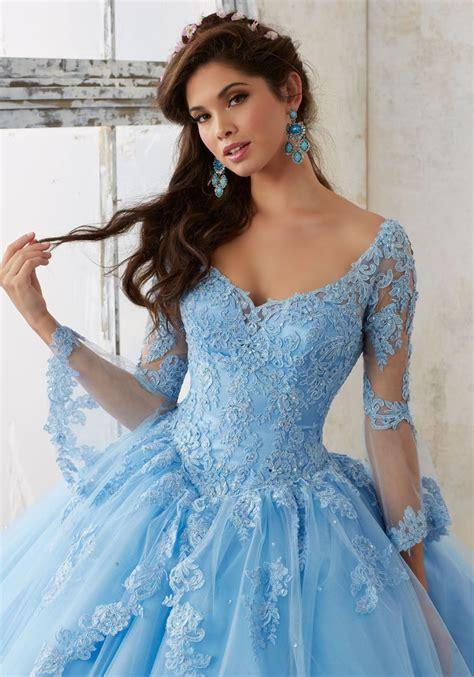 Dress Valencia Blue mori valencia quincea 241 era dress style 60015bl