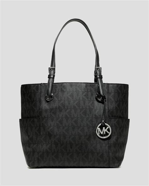 Mk New Tote Set 8880 michael michael kors jet set east west logo tote in black