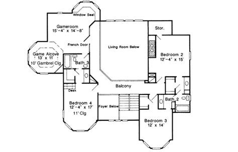 Queen Anne Floor Plans by Architectural Designs