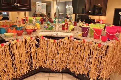 island themed decorations hawaiian island theme