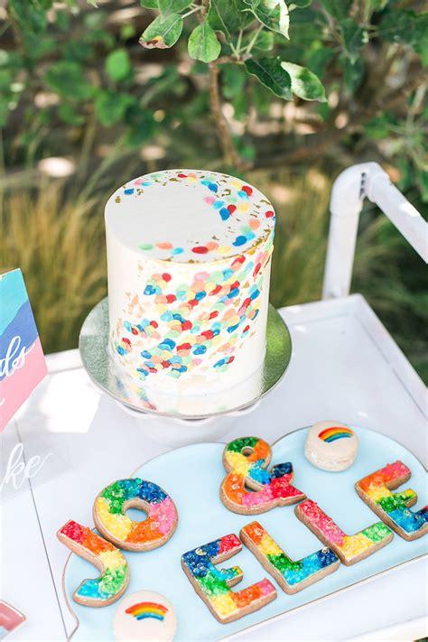 karas party ideas   rainbow birthday party kara