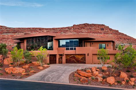 home design in utah southern utah contemporary contemporary exterior
