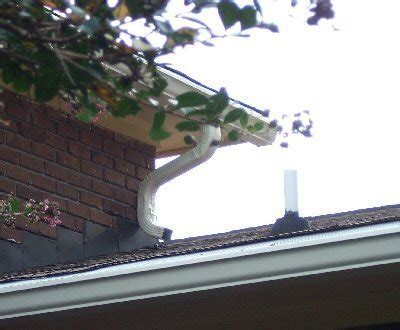downspout emptying  roof doityourselfcom community