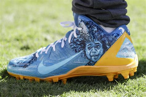 custom football shoes 18 amazing pairs of custom cleats worn by nfl players