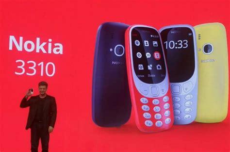 Nokia 3310 Versi Terbaru nokia 3310 versi baru resmi rilis gak canggih tapi lucu juga batok