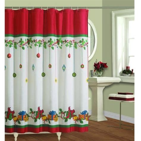 christmas bathroom shower curtains christmas gift ideas best accessories for your bathroom