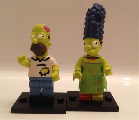 New Itchy Lego Minifigures The Simpsons No 13 Sse050 custom treehouse of horror simpsons lego minifigs by derrico13 on deviantart
