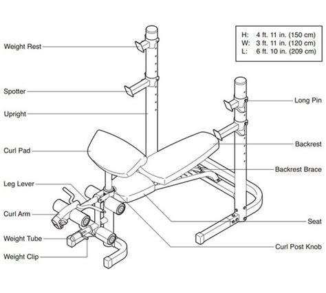 weider 490 dc bench buy weider 490 dc bench at argos co uk your online shop