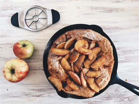 apple netherlands caramelized apple dutch baby the messy baker