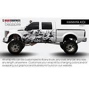 Truck Wraps Vehicle  Wake Graphics Fleet