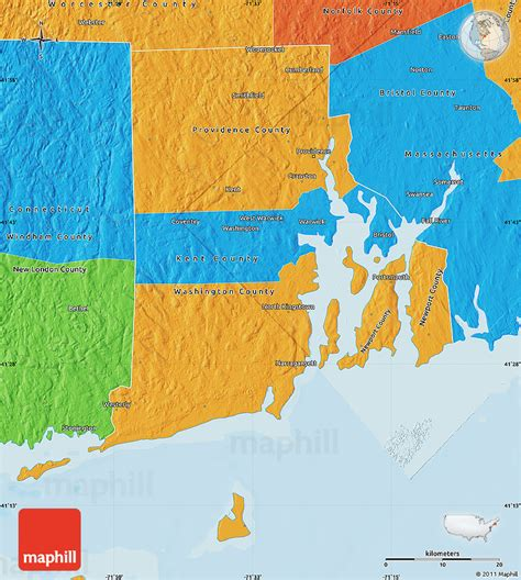 united states islands map political map of rhode island