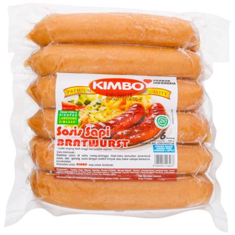Kimbo Brastwurt kimbo sosis sapi goreng indo honestbee
