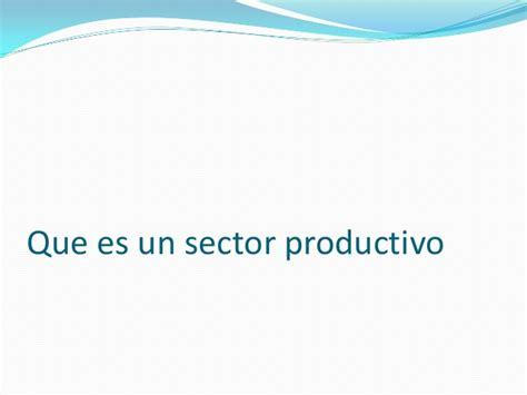 que es layout productivo que es un sector productivo