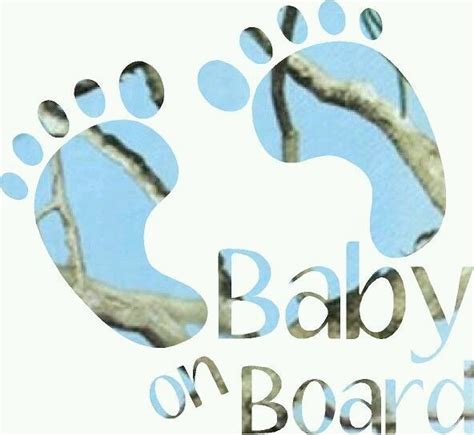 Baby On Board Sign Apple baby on board blue camo decal the sw company