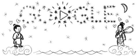 doodle qixi festival qixi festival chilseok
