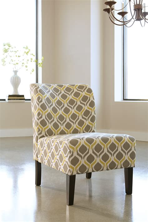 yellow pattern recliner honnally 5330560 by ashley accent chair by ashley gray