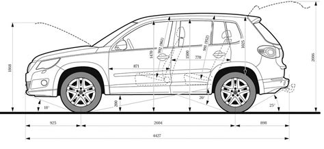 vw tiguan dimensions pictures to pin on pinsdaddy