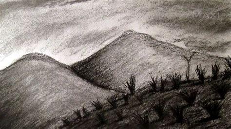 imagenes naturales simples c 243 mo dibujar paisaje al carboncillo dibujar paisajes y